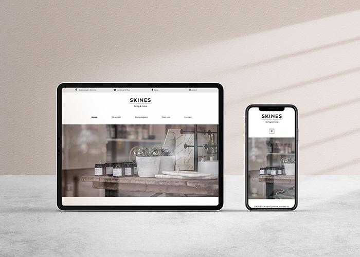Webdesign SKINES